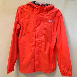 The North Face coral windbreaker jacket!